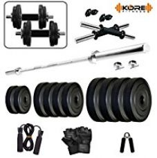 KORE 8KGCOMBO9-WB Home gym & Fitness Kit for Rs. 1,249