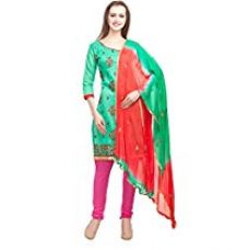 Buy DivyaEmporio Women's Faux Cotton Salwar Suit Dress Material from Amazon