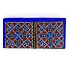 Buy Para Ladies Traditional Hand Clutch Women Embroidery Wallet, Blue from Amazon
