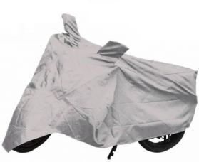 Get 90% off on Auto Hub Two Wheeler Cover for Universal For Bike  (Silver)