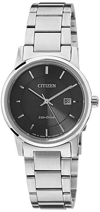 Buy Citizen Eco-Drive Analog Black Dial Women's Watch EW1560-57E from Amazon