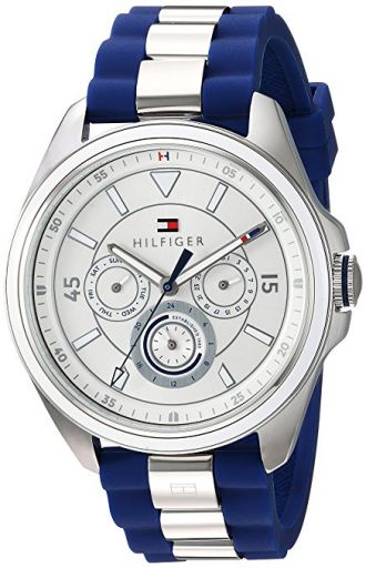 Buy Tommy Hilfiger Analogue Silver Dial Women's Watch (1781771) from Amazon