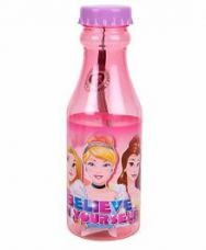 Buy Disney Princess Water Bottle Pink & Purple - 350 ml from FirstCry