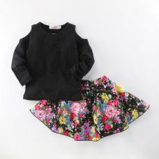 Classic Full Sleeve Top And Skirt Set for Rs. 609