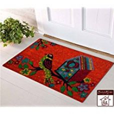 Saral home 100% coir made heavy duty anti slip door mat. Size 40x 60 cm for Rs. 599