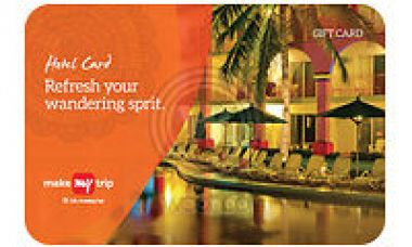 Buy Makemytrip Hotel E-Gift Card Worth Rs 15000 from Ebay