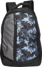 Buy Zwart 114114 25 L Free Size Backpack  (Grey, Black) from Flipkart