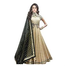 Buy gowns for women party wear (lehenga choli for wedding function salwar suits for women gowns for girls party wear 18 years latest sarees collection 2017 new design dress for girls designer sarees new collection today low price new gown for girls party wear) from Amazon