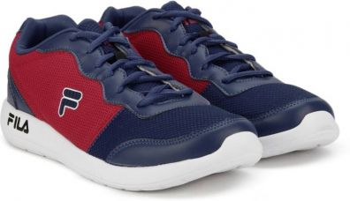 Flat 0% off on Fila REGENT Running Shoes  (Red)