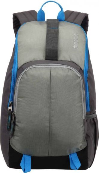 American Tourister Fit Pack Gym 21 L Backpack(Grey) for Rs. 699