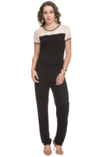 Flat 78% off on X LIFE Women Half Sleeves Jumpsuit