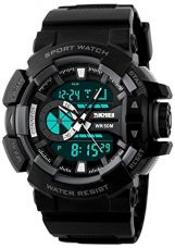 Skmei Analog-Digital Multi-Colour Dial Unisex Watch - 1117BBGREY for Rs. 488