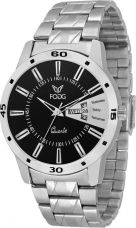Get 75% off on Fogg 2034-BK-CK Day and Date Analog Watch  - For Men