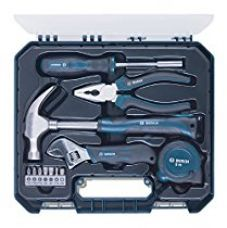 Buy Bosch 2.607.002.791 Tool Kit Set (Blue, 12-Pieces) from Amazon