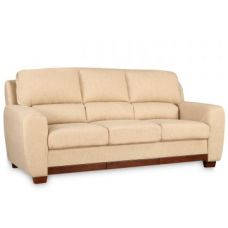 Buy Brendon Fabric Three Seater Sofa Beige for Rs. 44,900