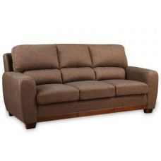 Buy Brendon Fabric Three Seater Sofa Brown for Rs. 44,900