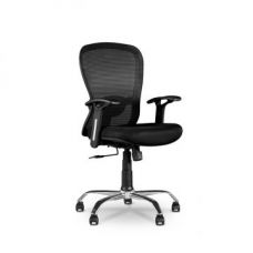 Buy Paris Eco Medium Back Office Chair Black for Rs. 8,500