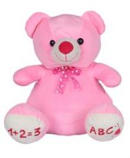 Flat 66% off on Ultra Teddy Bear Soft Toy Pink - Height 38 cm