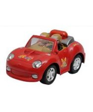 Happykids Musical Car Toy - Red for Rs. 335