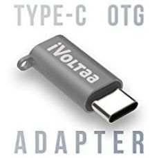 Buy iVoltaa USB Type C OTG Adapter, USB C to Micro USB Metal Adapter Connector Type C Male to Micro USB Female Converter with Keychain for Samsung S8 Plus, Pixel, Huawei Nexus 5X,6P, Nokia N1, OnePlus 3/5, LG G5,G6,ChromeBook Pixel from Amazon