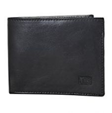 Buy Gansta GW1022 Black rich look sleek bi-fold wallet from Amazon
