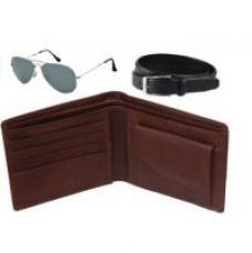 Buy K Decor Wallet,Belt  Sunglas Combo from ShopClues