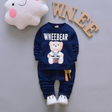 WneeBear Print Navy T-Shirt and Pant Set for Rs. 719