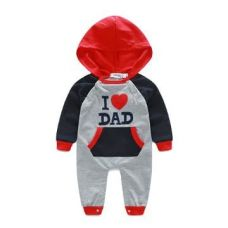 Love Dad Black Romper for Rs. 559