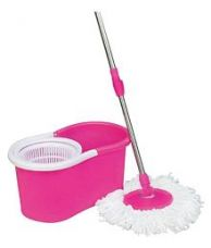 Flat 70% off on skyclean BFM-116 Single Bucket Mop Comes with Two Mop Refills