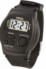 Black talking kids watch for boys/girls for Rs. 343