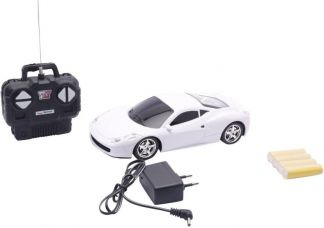 A R ENTERPRISES Rechargeable Remote Control Super Racing Car (White)  (White) for Rs. 580