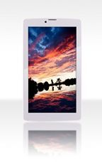 FUSION5 Tablet (7 inch, 16GB, Wi-Fi+ 3G+ Voice Calling, Bluetooth, FM, IPS Screen, High Quality Leather Case Included), White for Rs. 3,999