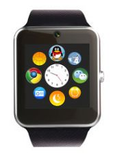 Flat 80% off on Unisex Silver-Toned ztooth Smart Watch GT