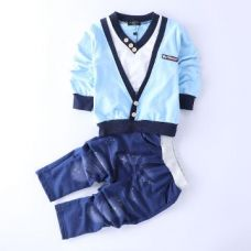 Buy Trendy Blue T-Shirt And Pant Set from Hopscotch