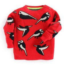Buy Cuckoo Pullover Red Sweater from Hopscotch