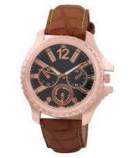 Get 58% off on Crazeis Brown Wrist Watch For Boys.