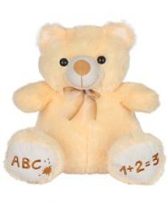 Ultra Teddy Bear Soft Toy Cream - Height 38 cm for Rs. 491