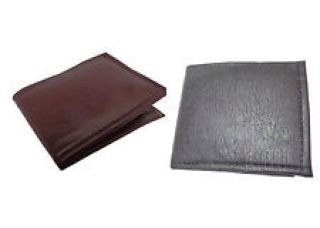 Buy Faux Leather Combo Wallet in Black and Brown for Rs. 199