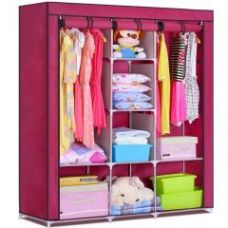 Buy 3 Door 88130 Folding Wardrobe Cupboard Almirah Best Quality from Rediff