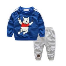 Buy Cartoon Printed T-shirt & Bottom 2 Piece Set from Hopscotch