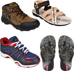 Buy Oricum COMBO(O)-610-606-946-653 Running Shoes  (Multicolor) from Flipkart