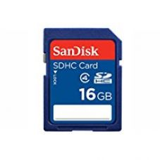 Buy SanDisk 16GB Class 4 SDHC Memory Card (SDSDB-016G-B35) from Amazon