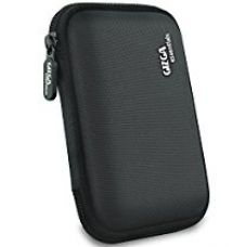 Buy Gizga Essentials GE-HDD-BLK Gizga Essentials External Hard Drive Case for 2.5-Inch Hard Drive - Double Padded (Black) (Black) from Amazon