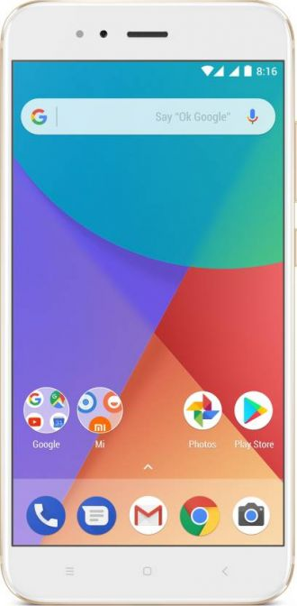 Mi A1 (Gold, 64 GB)  (4 GB RAM) for Rs. 13,999
