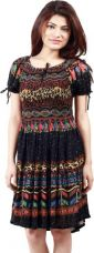 Buy Crease & Clips Women's A-line Multicolor Dress from Flipkart