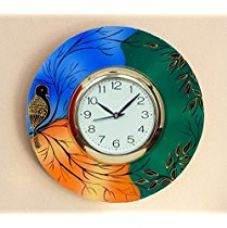 Buy JaipurCrafts Beautiful and Colorful Scenery Wooden Wall Clock ( 12 IN X 12 IN) - For Wall Decoration from Amazon