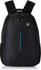 Buy HP 15 inch Laptop Backpack  (Black, Blue) from Flipkart
