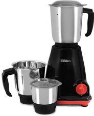 Buy Billion Fast Grind MG122 500 W Mixer Grinder  (Black, 3 Jars) from Flipkart