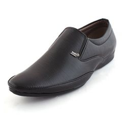 Buy Alestino Men's Leather Looks Formal Shoes FDS26Black from Amazon