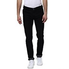 Buy Urbano Fashion Men's Black Slim Fit Stretch Jeans,Black,28 from Amazon
